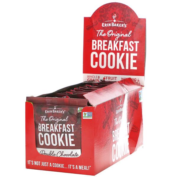 The Original Breakfast Cookie, Double Chocolate, 12 Cookies, 3 oz (85 g) Each