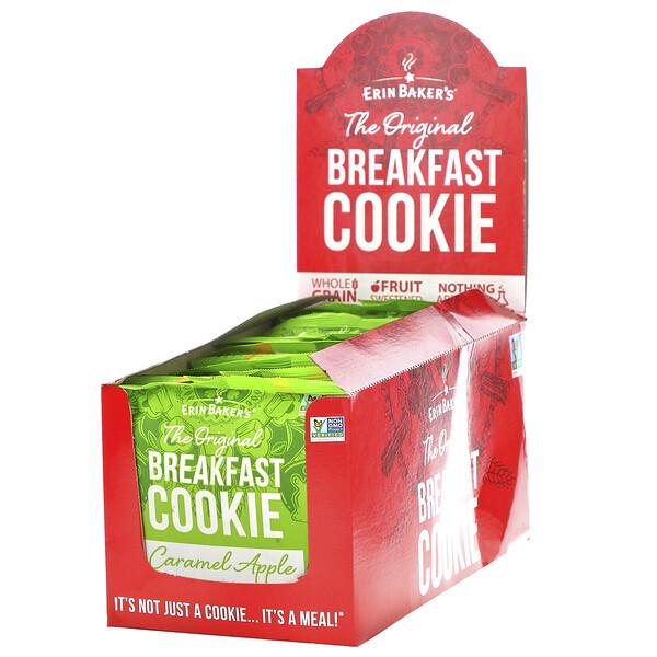 The Original Breakfast Cookie, Caramel Apple, 12 Cookies, 3 oz (85 g) Each