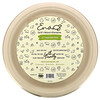 """Earth's Natural Alternative, 10"""" Compostable Plates, 50 Pack"""