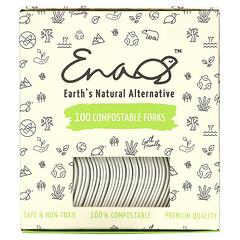Earth's Natural Alternative, 可降解餐叉,100 把裝