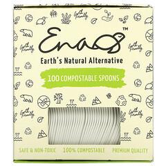 Earth's Natural Alternative, 可降解餐勺,100 個裝