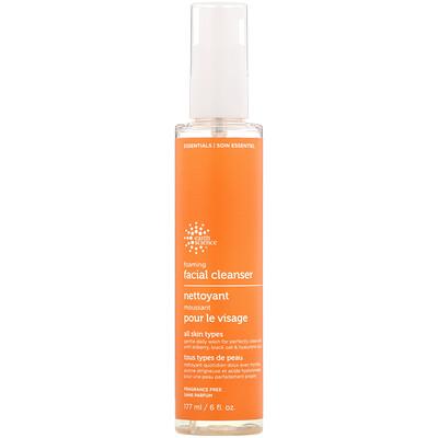 Earth Science Foaming Facial Cleanser, 6 fl oz (177 ml)
