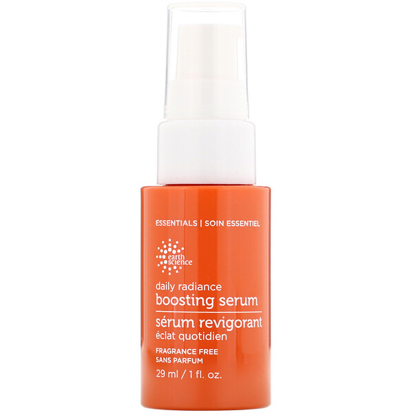 Earth Science, Daily Radiance Boosting Serum, 1 fl oz (29 ml)