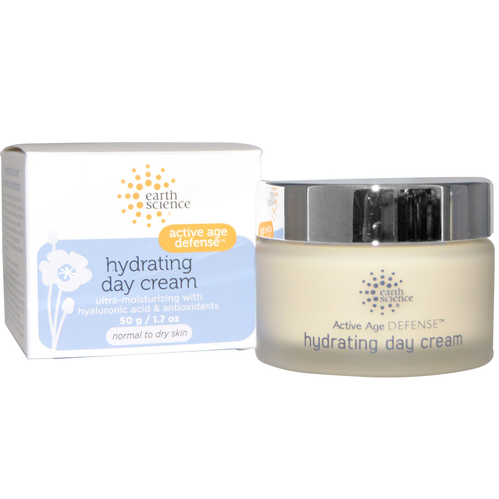 Earth Science, Active Age Defense, Hydrating Day Cream, 1.7 oz(pack of 3) Shiseido - B.H.-24 Day/Night Essence - 2pcs