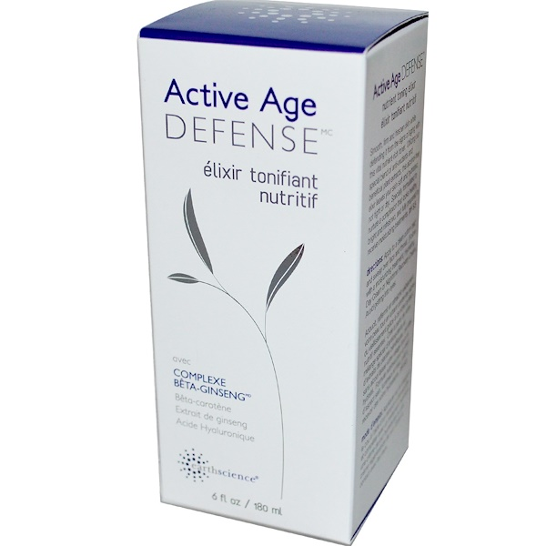 Earth Science, Active Age Defense, Nutrient Toning Elixir, 6 fl oz (180 ml) (Discontinued Item)
