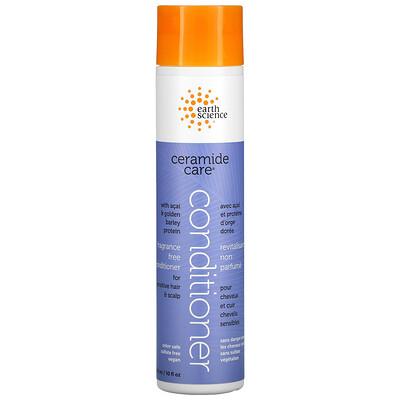 Earth Science Ceramide Care, Fragrance Free Conditioner, 10 fl oz (295 ml)