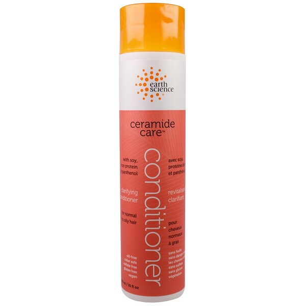 Earth Science, Ceramide Care, Clarifying Conditioner, 10 fl oz (295 ml) (Discontinued Item)