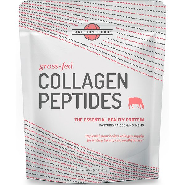 Grass-Fed Collagen Peptides, Unflavored, 16 oz (454 g)