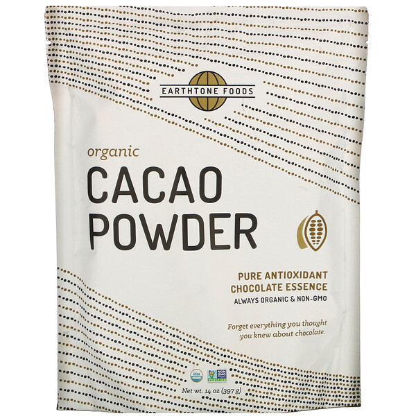 Organic Cacao Powder, 14 oz (397 g)