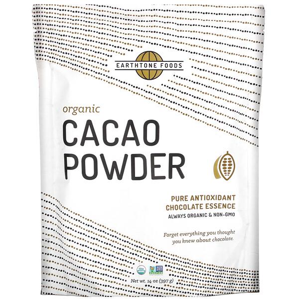 Organic Cacao Powder, 14 oz (397 g)