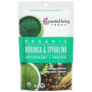 Essential Living Foods, Organic Moringa & Spirulina, 6 oz (170 g)