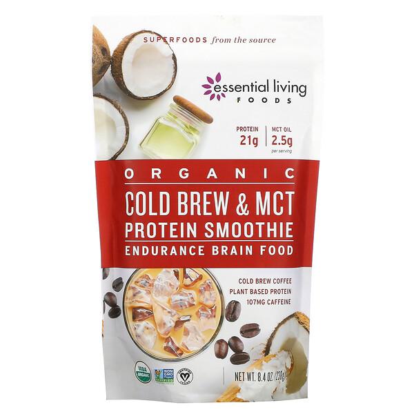 Organic Cold Brew & MCT Protein Smoothie, 8.4 oz (238 g)