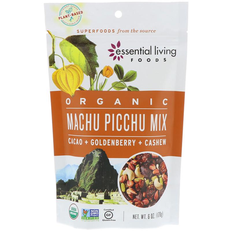 Organic, Machu Picchu Mix, Cacao + Goldenberry + Cashew, 6 oz (170 g)