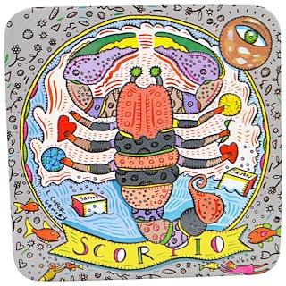 European Soaps, LLC, Pre De Provence, The Zodiac Collection, Scorpio, 3.5 oz (100 g)