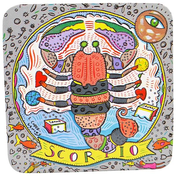 """European Soaps, LLC, """"Пре-де-Прованс"""", мыло из коллекции """"Зодиак"""", Скорпион, 3,5 унции (100 г) (Discontinued Item)"""