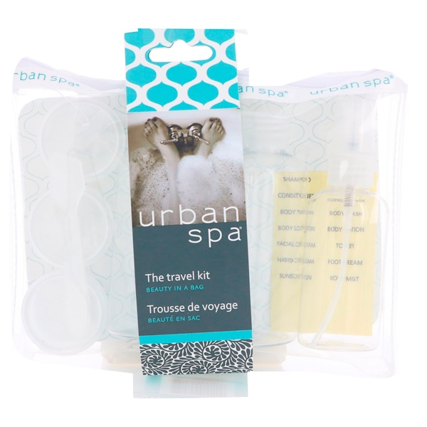 European Soaps, Urban Spa, The Travel Kit, 7 Piece Kit (Discontinued Item)