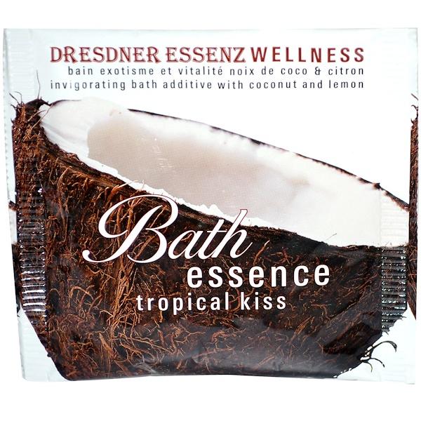 European Soaps, Dresdner Essenz Wellness, Bath Essence, Tropical Kiss, 2.1 oz (60 g) (Discontinued Item)