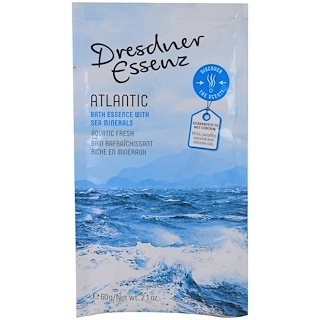 European Soaps, LLC, Dresdner Essenz, Bath Essence, Atlantic, 2.1 oz (60 g)