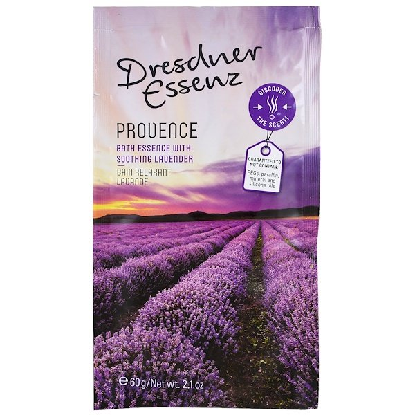 European Soaps, Dresdner Essenz, Bath Salt, Provence, 2.1 oz (60 g) (Discontinued Item)