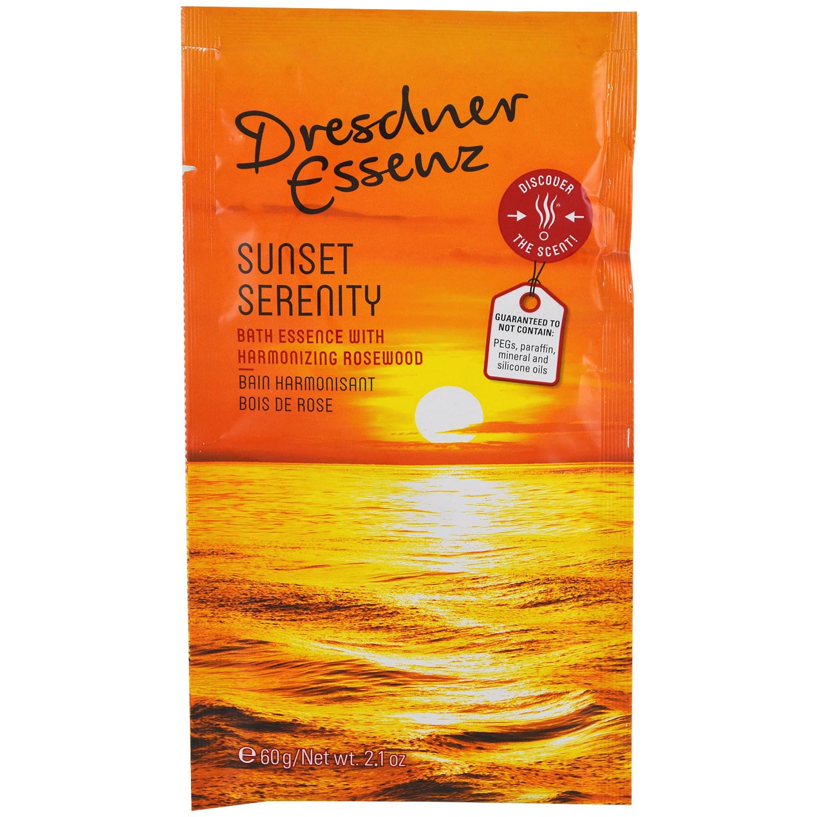 European Soaps, LLC, Dresdner Essenz, концентрат для ванны, Sunset Serenity, 2,1 унц. (60 г)