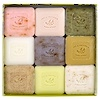 European Soaps, LLC, Guest Soaps Assorted, 9 Pack Gift Box, 25 g Each