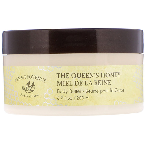 European Soaps, Pre de Provence, The Queen's Honey, Body Butter, 6.7 fl oz (200 ml)