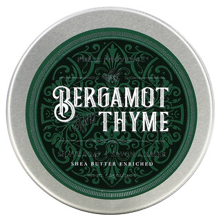 European Soaps, Shave Soap, Bergamot and Thyme, 5.25 oz (150 g)
