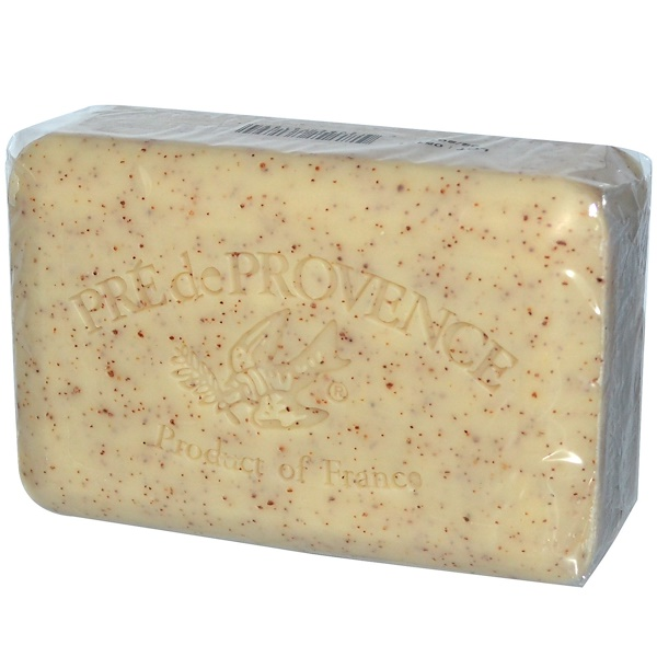European Soaps, プレドプロヴァンス(Pre de Provence) 固形石鹸、ハニー・アーモンド、8.8 oz (250 g)