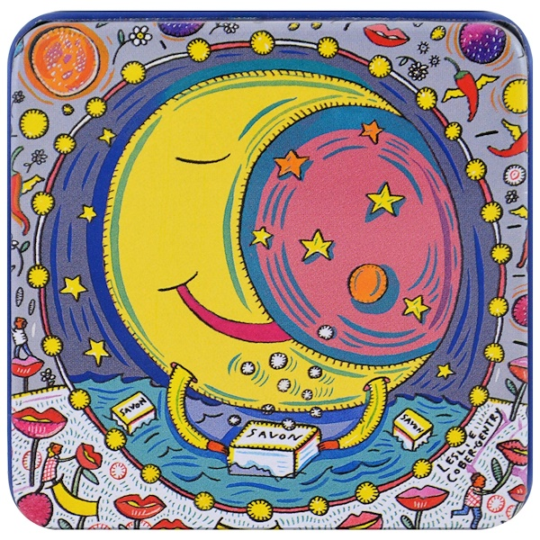 European Soaps, LLC, Pre de Provence,星座系列,月亮,3、5盎司(100克)