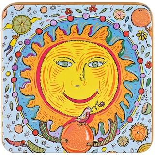 European Soaps, LLC, Pre de Provence, The Zodiac Collection, Sun, 3.5 oz (100 g)