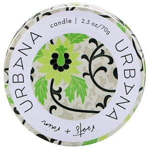 Европеан Соапс, Urbana, Soy Blend Candle, Roots + Rain, 2.5 oz (70 g) отзывы