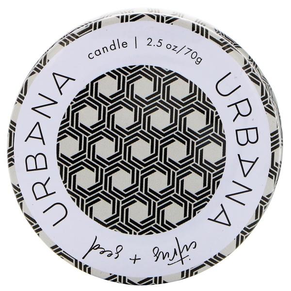 European Soaps, Urbana، قضيب خليط الصويا، حمضيات + بذور، 2.5 أونصة (70 غرام) (Discontinued Item)