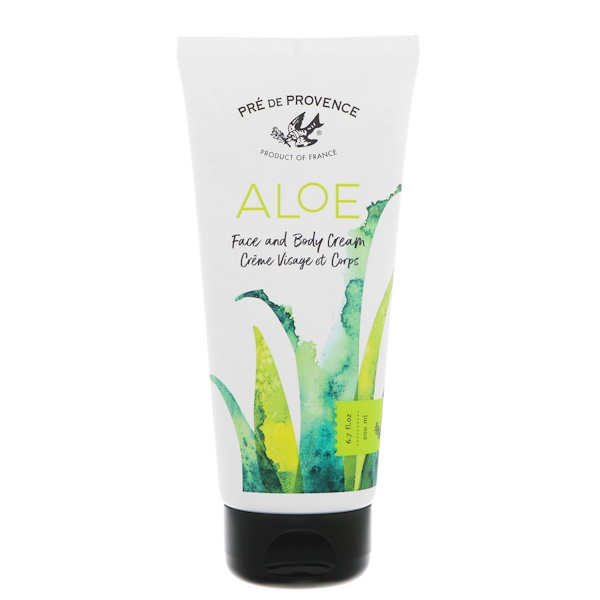 European Soaps, Pre de Provence, Aloe Face & Body Cream, 6.7 oz (200 ml) (Discontinued Item)