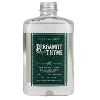 European Soaps, Hair And Body Wash, Bergamot and Thyme, 8.4 fl oz (250 ml)