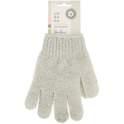Купить European Soaps Urbana, частный спа, отшелушивающие перчатки, 1 пара
