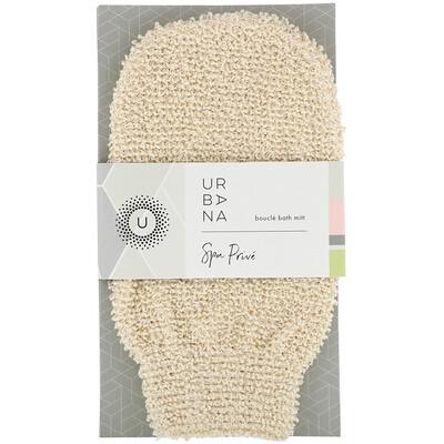 Купить European Soaps Urbana, частный спа, рукавица из петель для ванны, 1 рукавица для ванны