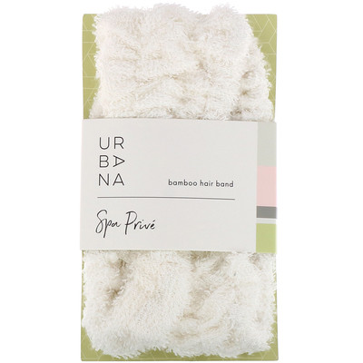 Купить European Soaps Urbana, Spa Prive, бамбуковая повязка для волос, 1 шт.