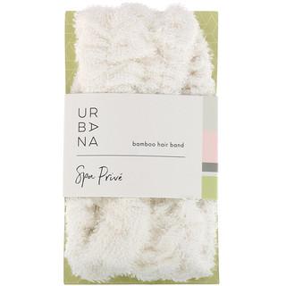 European Soaps, LLC, Urbana, Spa Prive, Bamboo Hair Band, 1 Hair Band