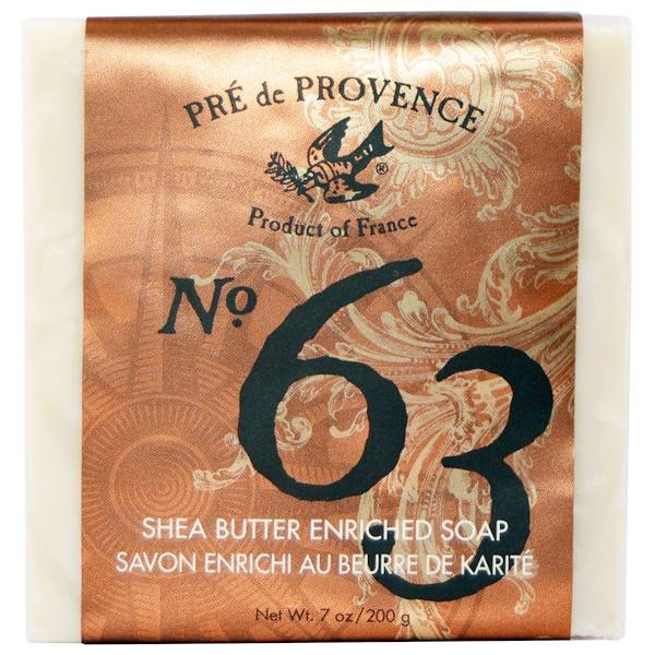 European Soaps, No. 63 Shea Butter Enriched Soap, 7 oz (200 g) (Discontinued Item)