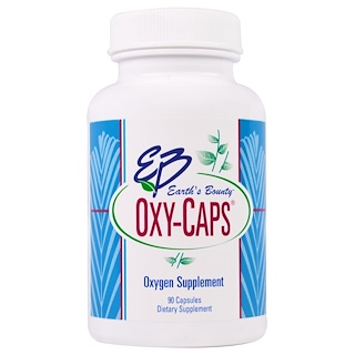 Earth's Bounty, Oxy-Caps, 375 mg, 90 Capsules