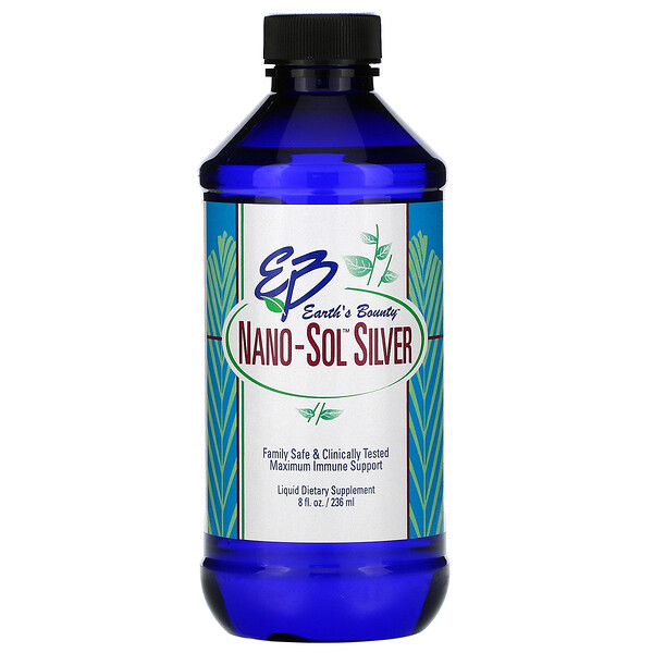 Nano-Sol Silver, 8 fl oz (236 ml)