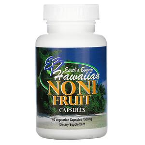 Ёрт Баунти, Noni Fruit, Hawaiian, 500 mg, 60 Vegetarian Capsules отзывы