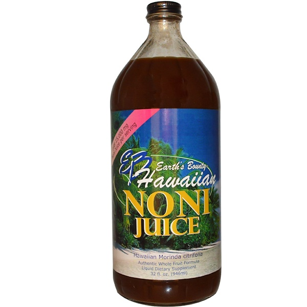 Earth's Bounty, Hawaiian Noni Juice, 32 fl oz (946 ml) (Discontinued Item)