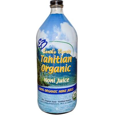 Купить Натуральный таитянский сок нони (Tahitian Organic Noni Juice), 32 жидких унций (946 мл)