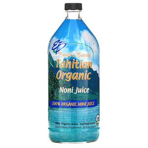 Ёрт Баунти, Tahitian Organic Noni Juice, 32 fl oz (946 ml) отзывы