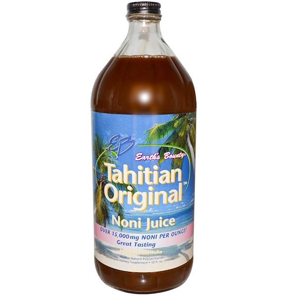 Earth's Bounty, Tahitian Original Noni Juice, 32 fl oz (946 ml) (Discontinued Item)