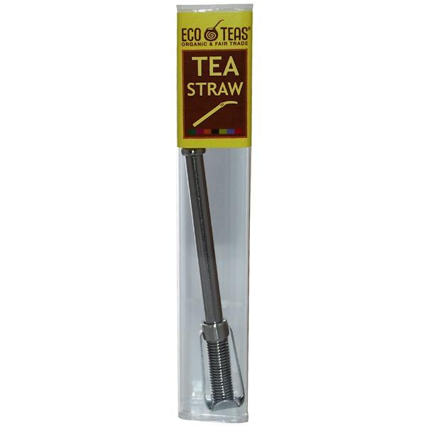 Eco Teas, Tea Straw, 1 Straw (Discontinued Item)
