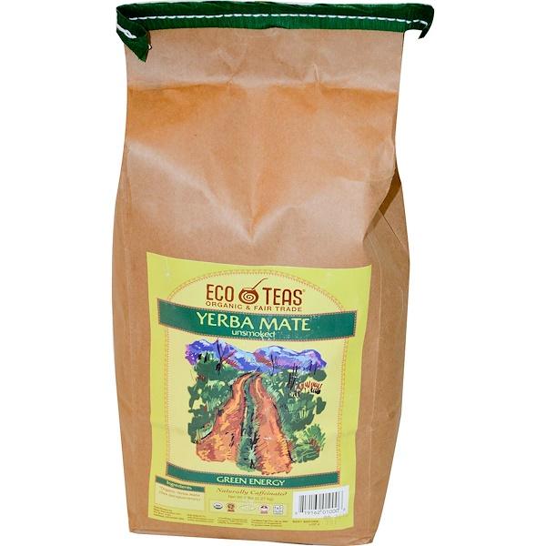 Eco Teas, Натуральные листья парагвайского чайного дерева, неокуренные, 5 фунтов (2.27 кг) (Discontinued Item)