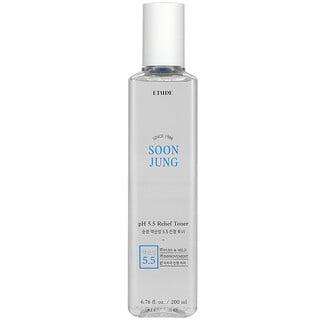 Etude, Soon Jung, pH 5.5 Relief Toner, 6.76 fl oz (200 ml)
