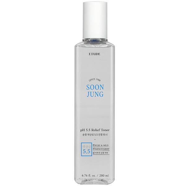 Soon Jung, pH 5.5 Relief Toner, 6.76 fl oz (200 ml)